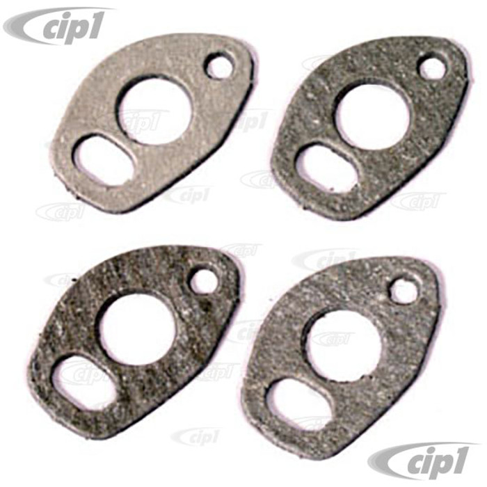 C13-3392 - HEAT RISER GASKETS - 4 PIECE SET - FOR BEETLE/GHIA  12-1600CC STYLE ENGINES