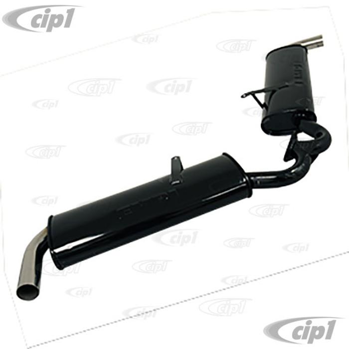 C13-3689 - EMPI – DUAL MUFFLER FOR C13-3699 1-5/8 INCH MERGED HEADER - (A20)
