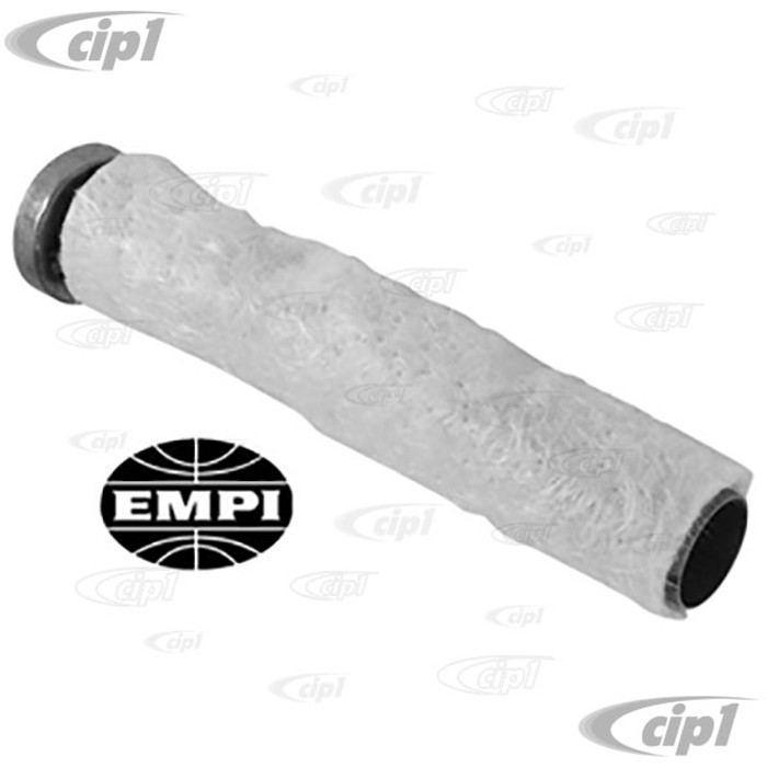 C13-3780-1 - EMPI BRAND - UNIVERSAL STINGER BAFFLE INSERT WITH FIBERGLASS WRAP - ALL EMPI STREET STINGERS (2-13/16 INCH DIA. BELL - 13-1/2 INCHES LONG) - SOLD EACH