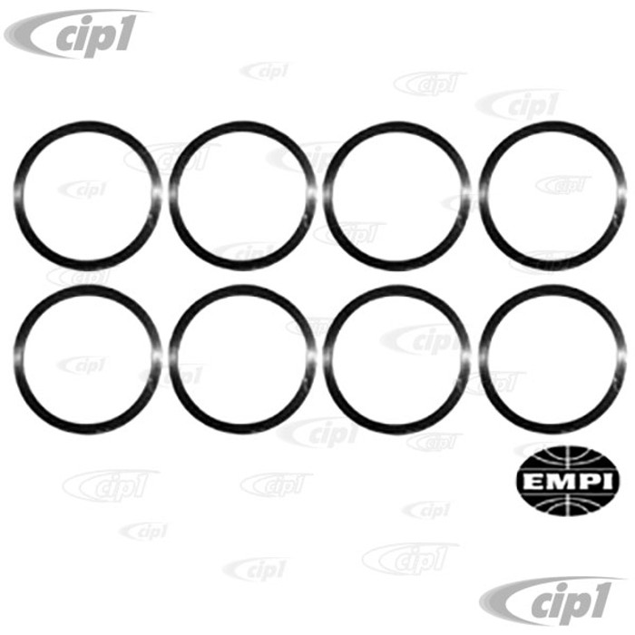 C13-4069 - EMPI -SPIRAL-LOCK PISTON PIN RETAINERS - SET OF 8 FOR COMPLETE ENGINE - 13-1600CC BEETLE STYLE