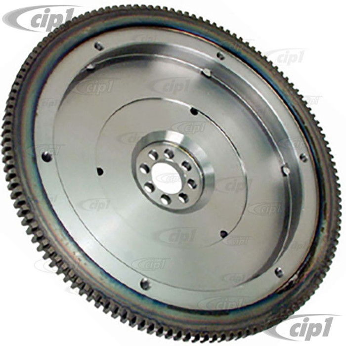 C13-4099 - EMPI - CHROMOLY 200MM 12 VOLT FLYWHEEL - LIGHTENED TO APPROX. 13LBS. - ALL 1600CC BEETLE STYLE ENGINES  - (A15)