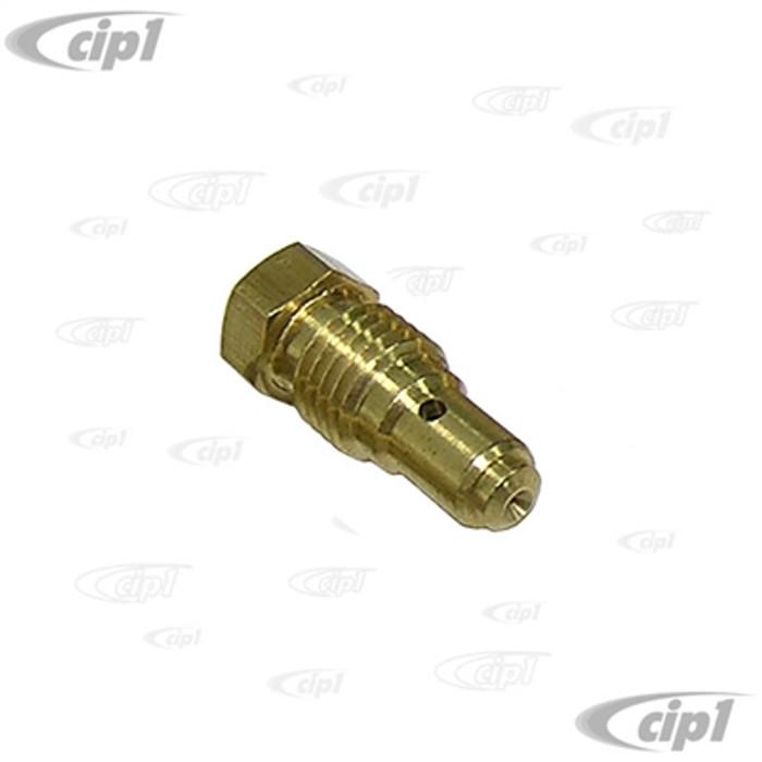 C13-43-5060-S - .060 IDLE JET FOR BROSOL / SOLEX / KADRON STYLE CARBURETORS - SOLD EACH