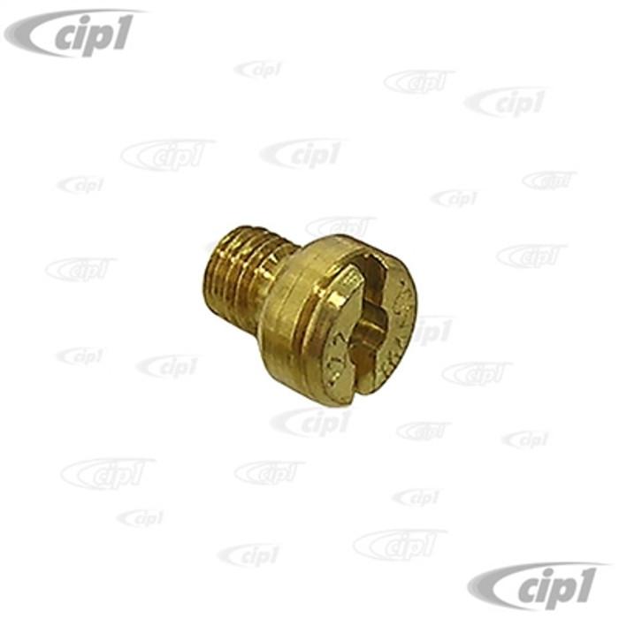 C13-43-5120-S - .120 MAIN JET FOR BROSOL / SOLEX / KADRON STYLE CARBURETORS - SOLD EACH