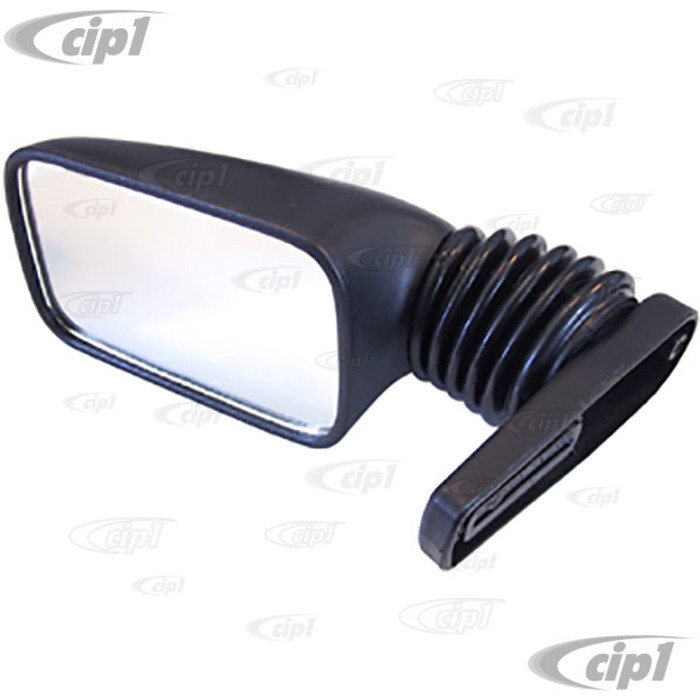C13-4565 - BABY TURBO STYLE MIRROR - FITS LEFT OR RIGHT - NICE QUALITY - PAINTABLE - SOLD EACH