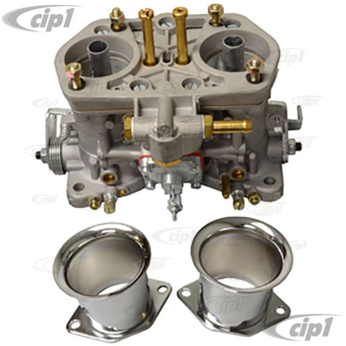 C13-47-1010 - REPLACEMENT 40MM EMPI HPMX 3.0 CARBURETOR ONLY WITH CHROME STACKS - SOLD EACH