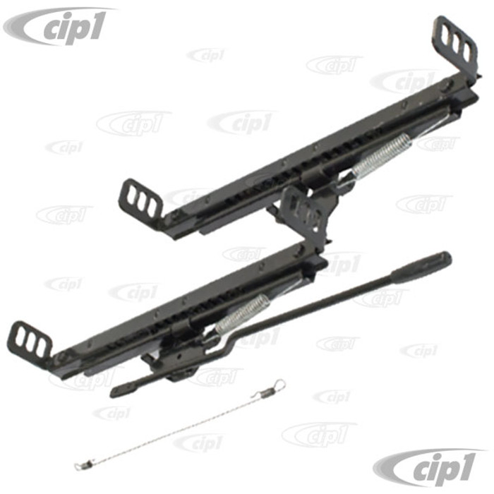 C13-62-2657 - EMPI - UNIVERSAL SEAT SLIDER ONLY KIT - WITH HARDWARE FOR 1 SEAT - SOLD SET