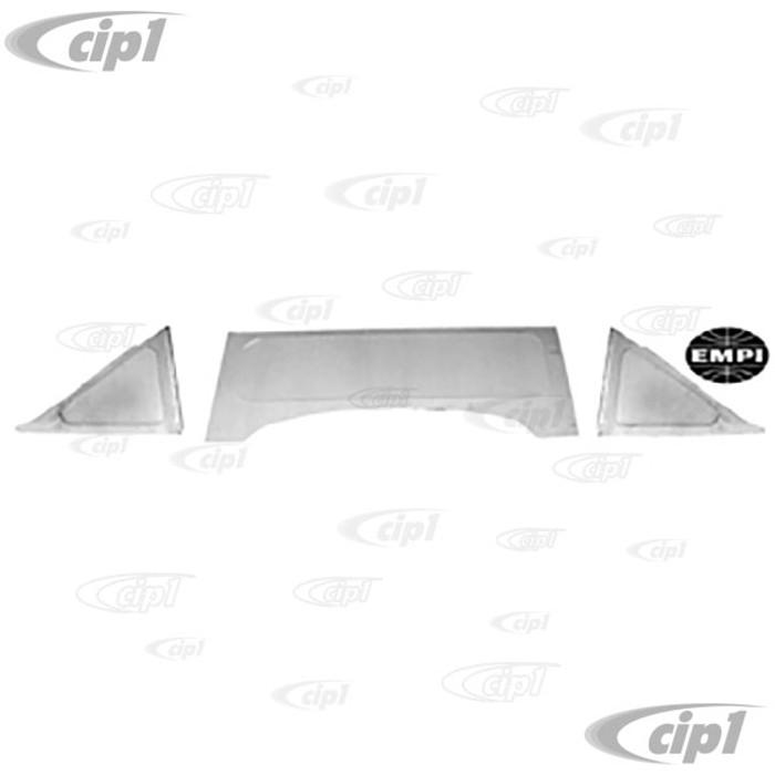 C13-62-3050 - EMPI BRAND -ALUMINUM PRE-CUT 3-PIECE FIREWALL KIT - BEETLE 46-79 - (A10)