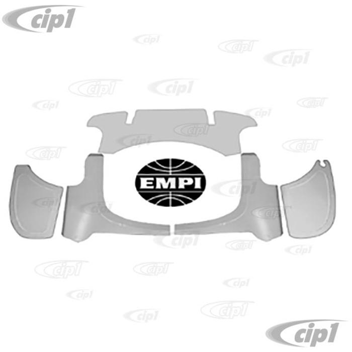 C13-62-3060 - EMPI BRAND -ALUMINUM PRE-CUT 5-PIECE FIREWALL KIT - GHIA 67-74 - (A10)