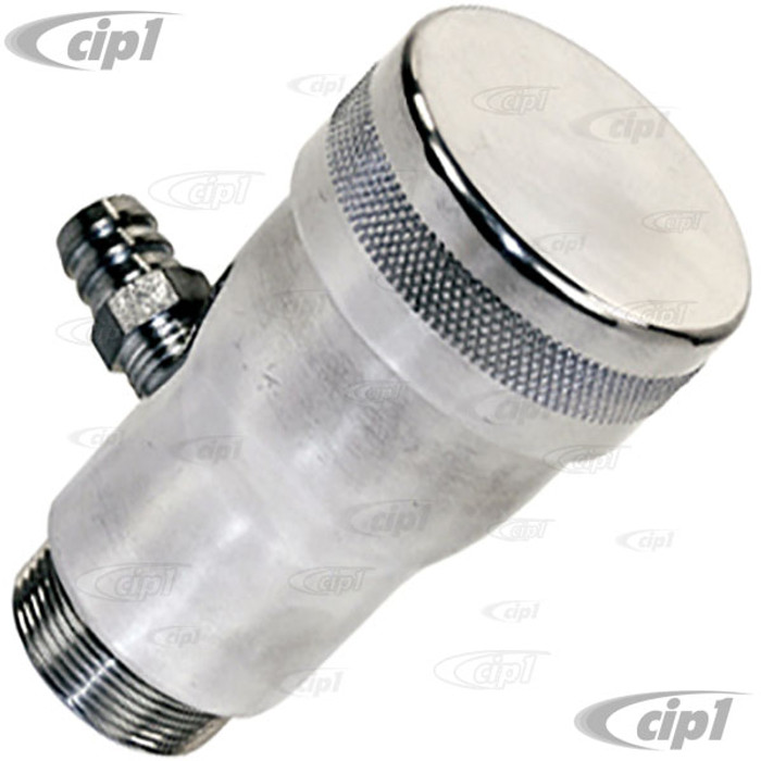 C13-7904 - EMPI – BILLET ALUMINUM OIL FILLER – SMOOTH FLOW WITH VENT – ALL 1600CC BEETLE STYLE ENGINES
