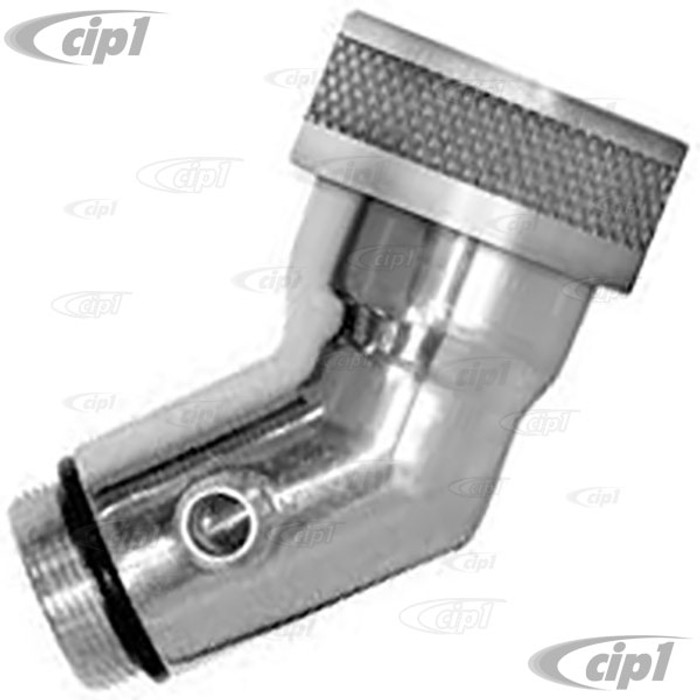 C13-7914 - EMPI – VERTICAL BILLET ALUMINUM OIL FILLER EITH SMOOTH CAP – ALL 1600CC BEETLE STYLE ENGINES