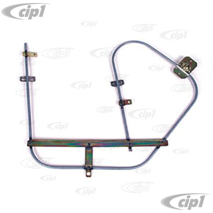 ACC-C10-3380 - (111-837-501F 111837501F) QUALITY REPRODUCTION - DOOR WINDOW REGULATOR - LEFT - BEETLE 65-67 (SEE SPECIAL NOTES ABOUT 1 PIECE WINDOWS) - SOLD EACH