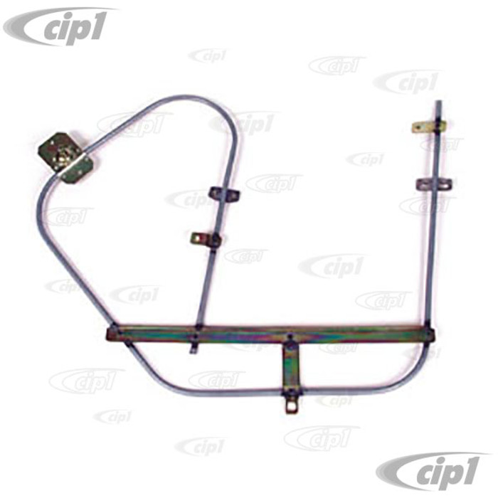 ACC-C10-3381 - (111-837-502F 111837502F) QUALITY REPRODUCTION - DOOR WINDOW REGULATOR - RIGHT - BEETLE 65-67 (SEE SPECIAL NOTES ABOUT 1 PIECE WINDOWS) - SOLD EACH