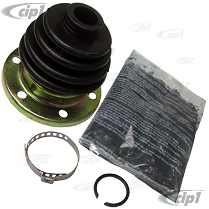 C13-86-1084-D - CV JOINT BOOT KIT - CONTAINS 1 BOOT W/ GREASE & CLAMP - BEETLE 69-79/GHIA 69-74/TYPE-3 69-74 - SOLD EACH