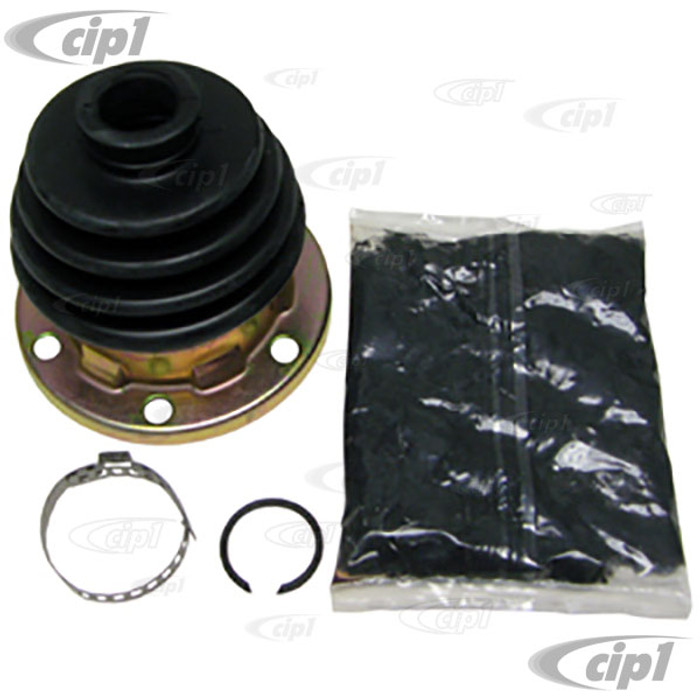 C13-86-1086-D - CV JOINT BOOT KIT - CONTAINS 1 BOOT W/ GREASE & CLAMP - BUS 68-79 / VANAGON 80-91 / THING73-74