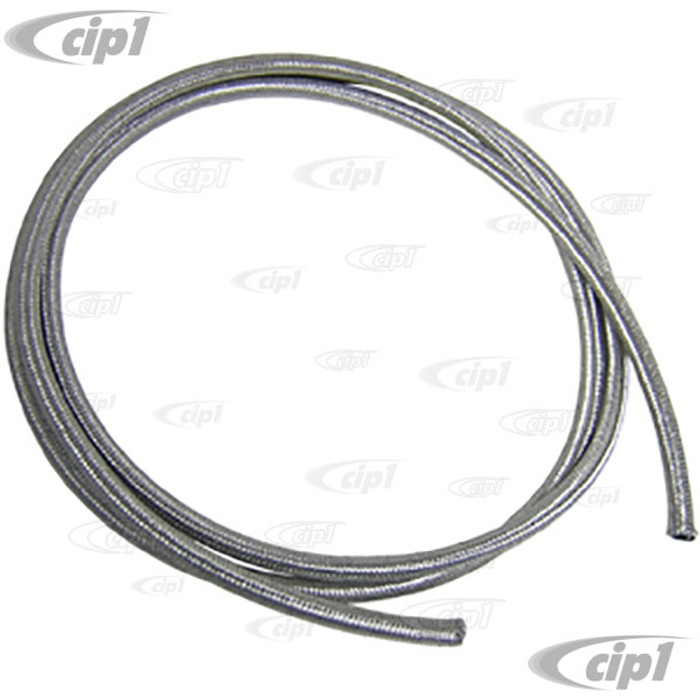 C13-8811 - EMPI BRAND -STAINLESS STEEL BRAIDED 1/4 INCH FUEL LINE - ID - 10 FEET