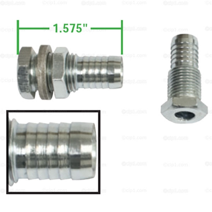 C13-9165 - EMPI - PAIR OF DELUXE VALVE COVER BREATHER VENTS - WITH BARBED END FOR 1/2 INCH I.D. HOSE - ALL MODELS - SOLD PAIR