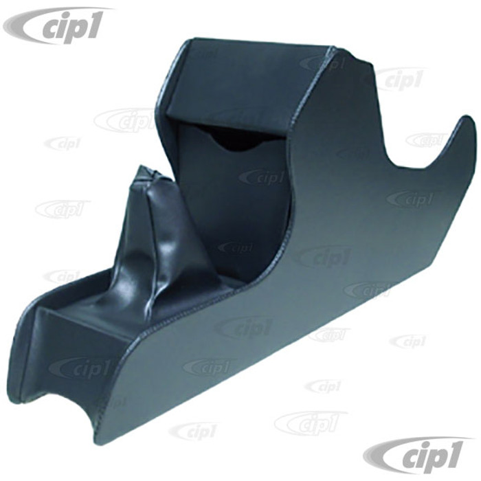 ACC-C10-3494-11 - BLACK VINYL CONSOLE FLOOR TO DASH W/O CUP HOLDER - SUPER BEETLE 73-79