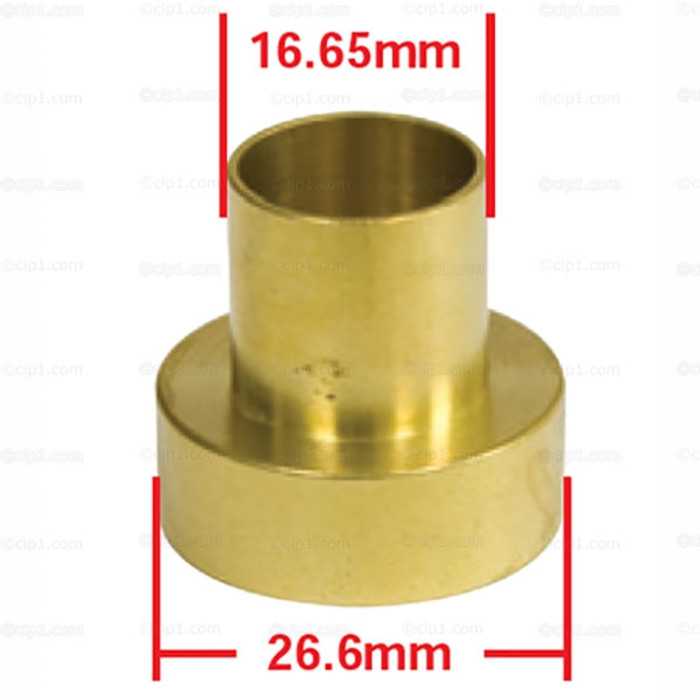 C13-98-3017-B - EMPI - NOSE CONE BUSHING AND SEAL HOLDER (USE VWC-001-301-227 SEAL NOT INCLUDED) - BEETLE/GHIA/TYPE-3 69-79 / BUS 69-75 - SOLD EACH