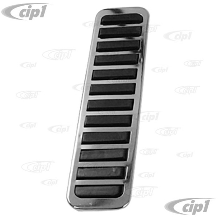 ACC-C10-3626 - CHROME GAS PEDAL COVER - BEETLE 58-79 - GHIA 58-74 - TYPE 3 62-74 - THING 73-74