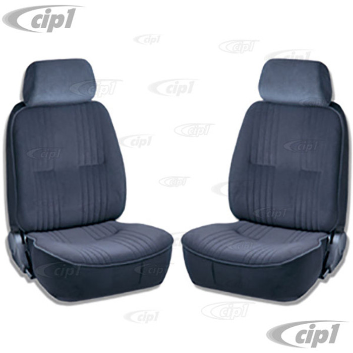 C15-80-1300-61 - SCAT PRO 90 RECLINER SEATS WITH HEADREST - BLACK VELOUR - LEFT & RIGHT - WITHOUT MOUNTING ADAPTERS - SOLD PAIR