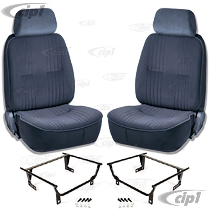 C15-80-1300-61-WA - SCAT PRO 90 RECLINER SEATS WITH HEADREST - LEFT & RIGHT - WITH MOUNTING  ADAPTERS (SPEC.YEAR/MODEL) - SOLD PAIR