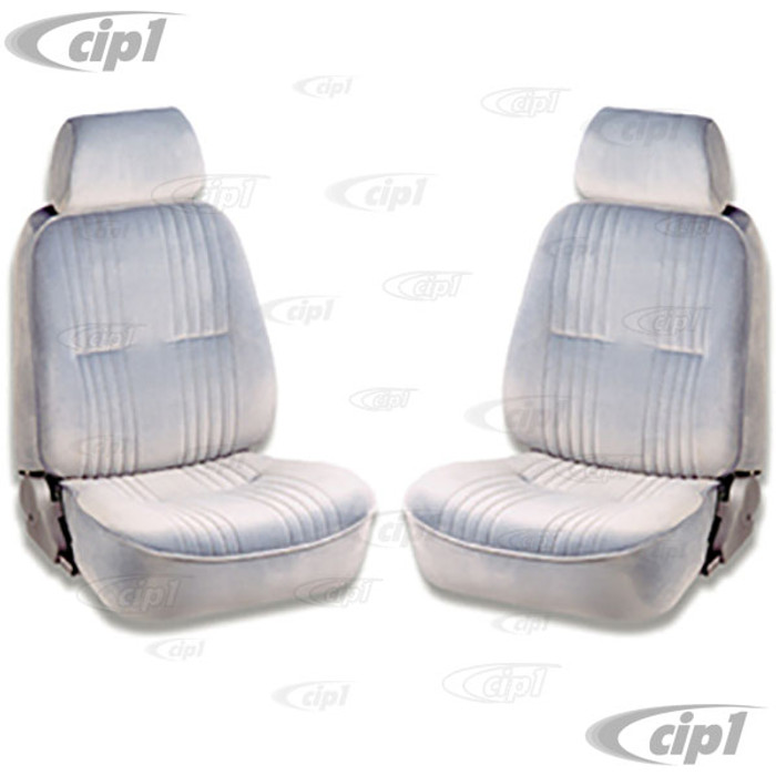 C15-80-1300-62 - SCAT PRO 90 RECLINER SEATS WITH HEADREST - GREY VELOUR - LEFT & RIGHT - WITHOUT MOUNTING ADAPTERS - SOLD PAIR