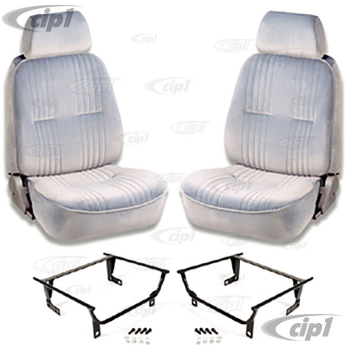 C15-80-1300-62-WA - SCAT PRO 90 RECLINER SEATS WITH HEADREST - LEFT & RIGHT - WITH MOUNTING  ADAPTERS (SPEC.YEAR/MODEL) - SOLD PAIR