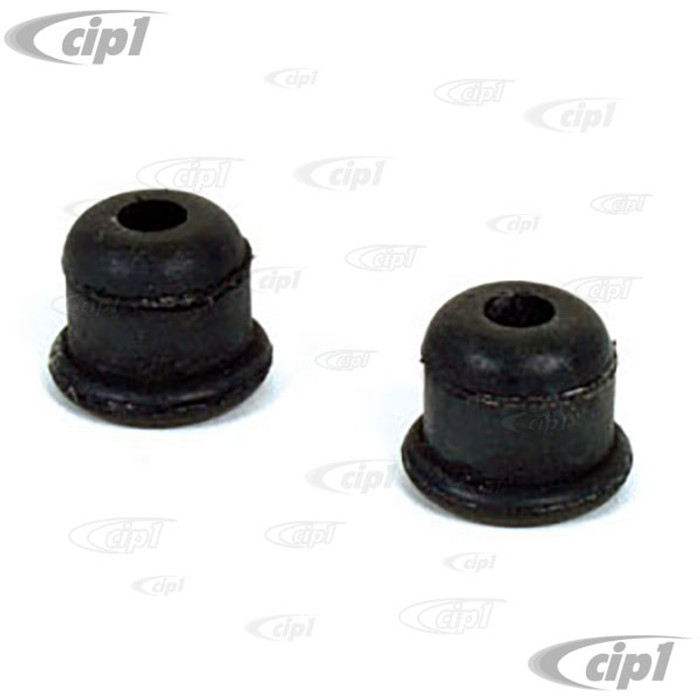 C16-111-189A - (111-209-189A 111209189A) - GERMAN - COLLAR FUEL LINE THRU CHASSIS BEETLE 56-79 / GHIA 56-74 / TYPE-3 62-67 / THING 73-74 - SOLD PAIR