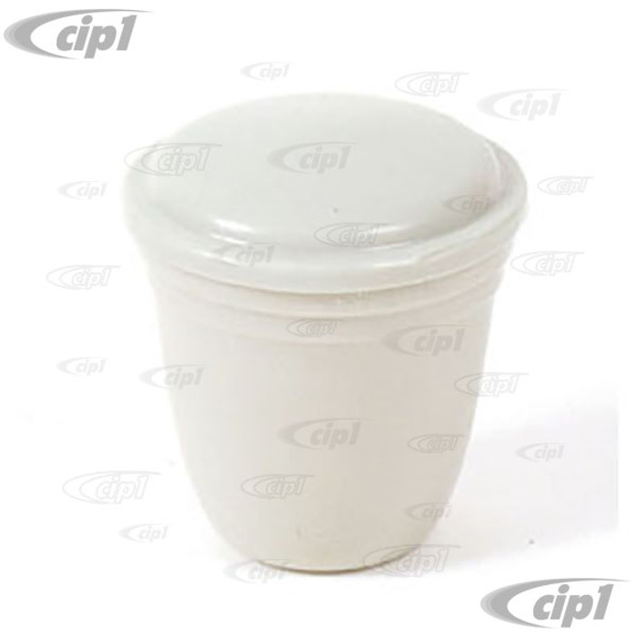 C16-111-542-GY - (113-941-541GY 113941541GY) - GREY DASH KNOB - 5MM - HEADLIGHT/ASHTRAY AND VARIOUS - SEE NOTES - BEETLE 52-66/GHIA 56-66/BUS 55-66/TYPE-3 65-66 - SOLD EACH
