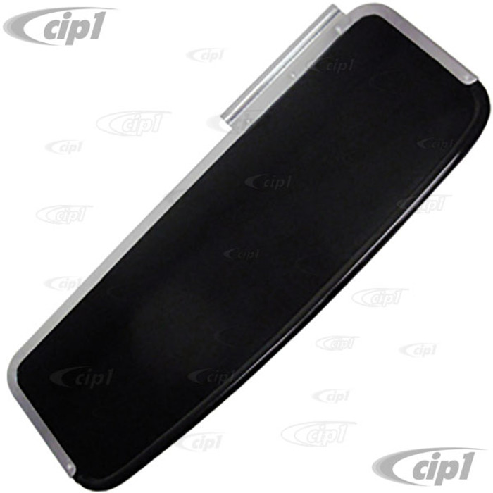 C16-111-551-L - (113-857-515 113857515) - SUNVISOR LEFT - BLACK PLASTIC (NON SEE THROUGH) - BEETLE 50-57 - SOLD EACH