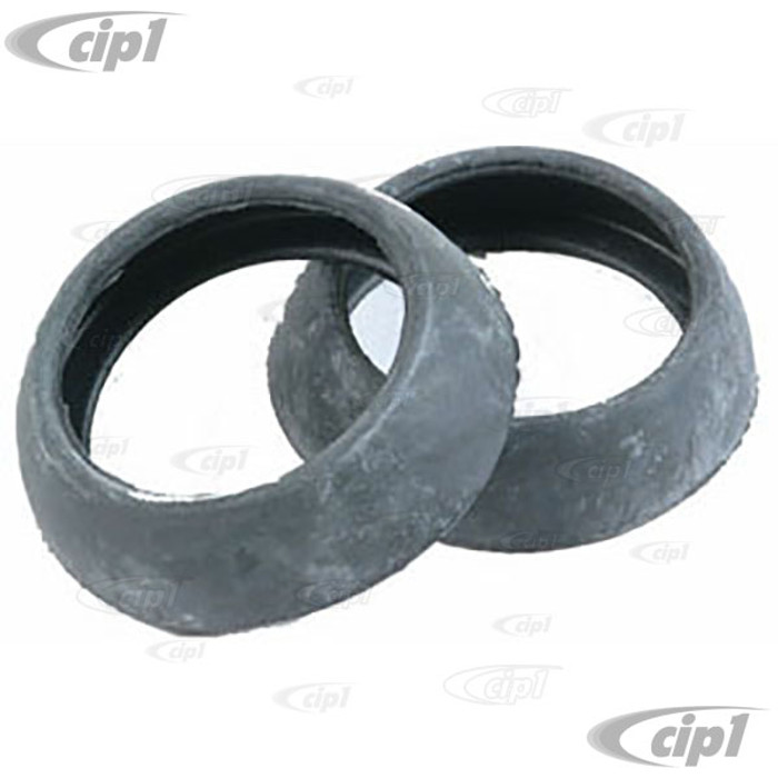 C16-111-586 - (113-119-585A 113119585A) GERMAN - FRESH AIR HOSE BASE SEALS - EARLY STYLE - WILL FIT ALL BEETLE/GHIA 63-69 - SOLD PAIR