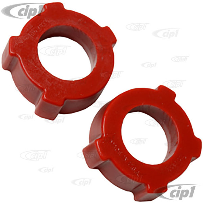 ACC-C10-4006 - EMPI 16-5130 - SPRING PLATE URETHANE KNOBBY BUSHING (1-3/4 IN. I.D.) - OUTER BEETLE/GHIA 60-68 - WITH SWING AXLE - SOLD PAIR