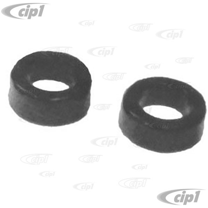 ACC-C10-4008 - SPRING PLATE URETHANE ROUND BUSHING (1-3/4 INCH INSIDE DIA.) - LARGE O.D. FOR INSIDE - EARLY YEARS - SOLD PAIR