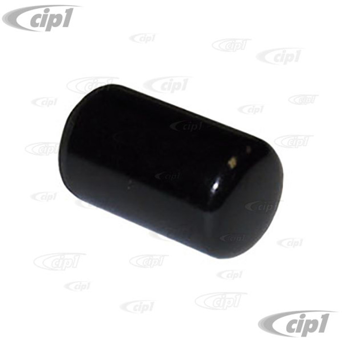 C16-113-133-BK - (113-711-133A 113711133A) - EMERGENCY BRAKE BUTTON - BLACK - ALL BEETLE - GHIA - TYPE-3  & BUS 50-67 - VANAGON 80-91 THING 73-74 - SOLD EACH