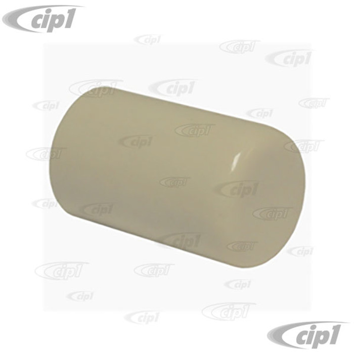 C16-113-133-IV - (113-711-133A 113711133A) - EMERGENCY BRAKE BUTTON - IVORY - ALL BEETLE - GHIA - TYPE-3  & BUS 50-67 - VANAGON 80-91 THING 73-74 - SOLD EACH
