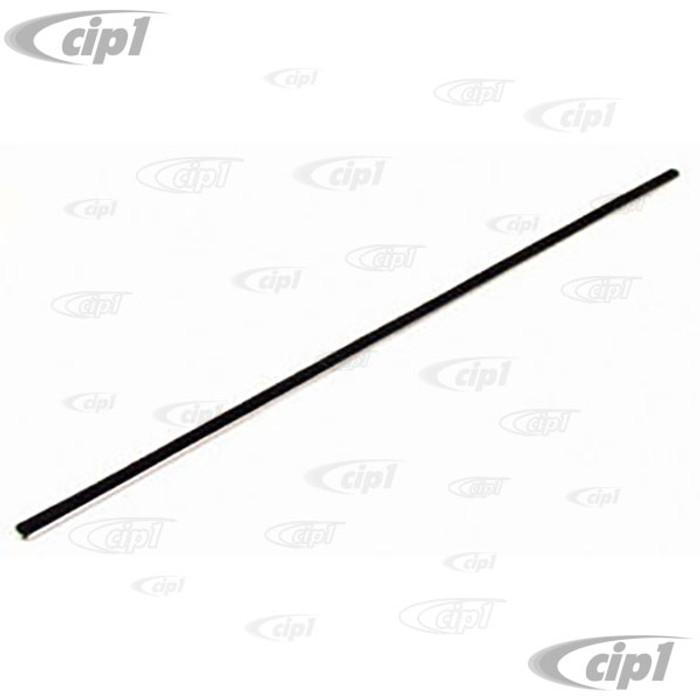 C16-141-479-LR - (141-837-479 141837479) - EXCELLENT QUALITY - GERMAN MADE - INNER FELT WINDOW SCRAPER - LEFT OR RIGHT - KARMANN GHIA 56-74 - SOLD EACH
