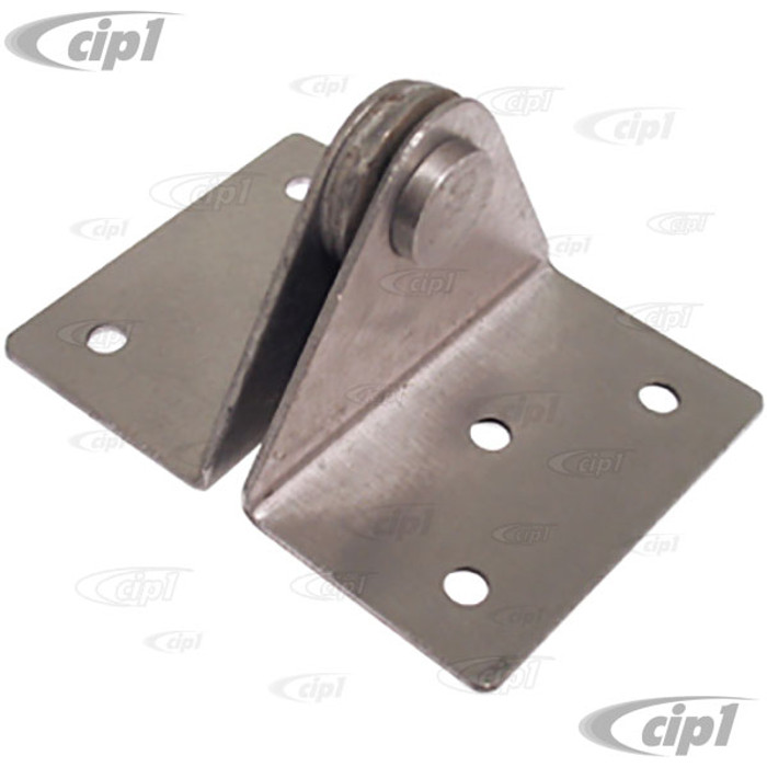 C16-141-571 - (141-885-571 141885571) - REAR SEAT HINGE LEFT OR RIGHT - CONVERTIBLE GHIA 56-74 - SOLD EACH