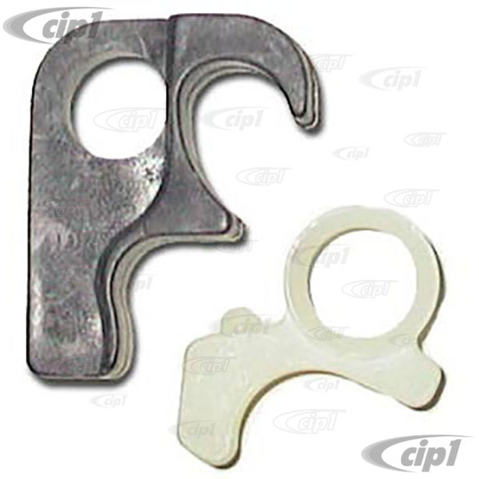 C16-141-898 - (141-837-290-KT 141837290KT) - STRIKER PLATE REBUILD KIT - LEFT OR RIGHT - DOES ONE SIDE - GHIA 64-66SOLD 2 PIECE SET