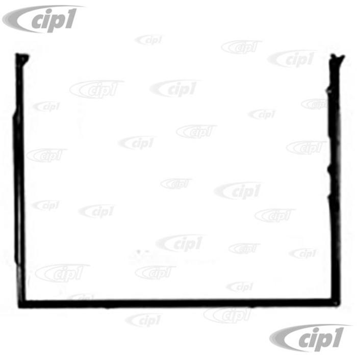C16-151-721D-L (151-831-721D 151831721D) - GOOD REPRODUCTION - DOOR SEAL - LEFT - CONVERTIBLE BEETLE 50-79 - SOLD EACH