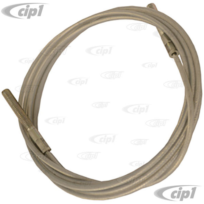 C16-151-957 - (151-871-957 151871957) - REAR TENSION CABLE - PULLS TOP INTO BODY GROOVE - BEETLE CONVERTIBLE 67-1/2-79 - SOLD EACH