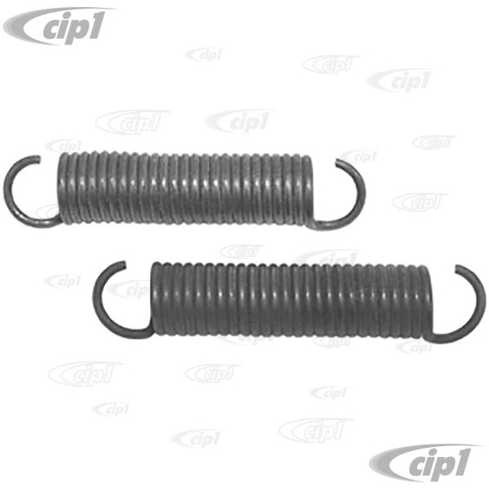 C16-155-953A - (155-871-953A 155871953A) - SPRINGS FOR SIDE TENSIONER  WIRE (C16-155-971A SOLD SEP.) - BEETLE 56-79 - SOLD PAIR