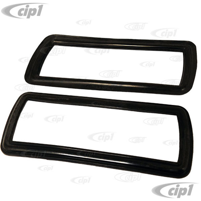 C16-211-165C-LR - (211-953-165C 211953165C) - OE QUALITY - PAIR OF FRONT TURN SIGNAL SEALS - LEFT AND RIGHT - BUS 68-72 - SOLD PAIR