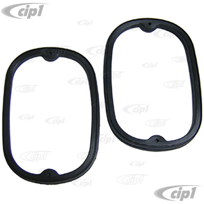C16-211-245A-LR - (211-945-245-A 211945245A) EXCELLENT REPRODUCTION MADE IN USA - PAIR OF TAIL LIGHT SEALS - TAIL LIGHT ASSEMBLY TO BODY (USA SPEC. ONLY-NOT EUROPEAN VERSION) - BUS 62-71 - SOLD PAIR