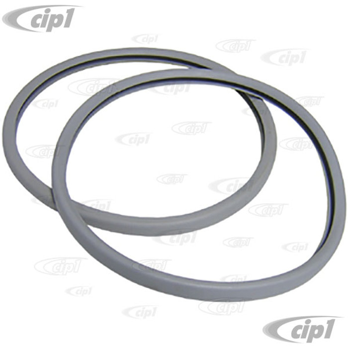C16-211-515S-LR - (211-857-515 211857515) - ELEPHANT EAR STYLE MIRROR - REPLACEMENT SEALS BETWEEN HOUSING & GLASS  - BUS 55-67 - SOLD IN PAIRS