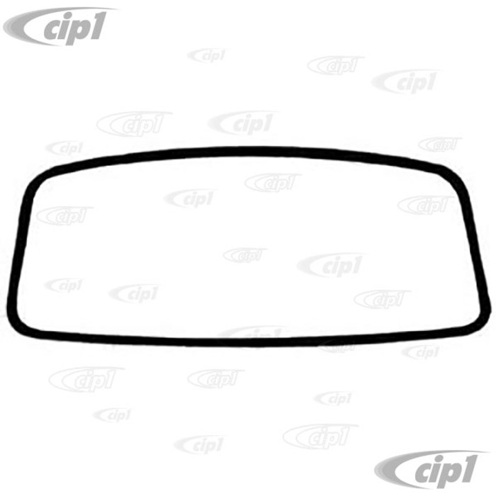 C16-241-121COE - (211-845-121-D 211845121D) - GENUINE GERMAN - FRONT WINDSHIELD SEAL - WITHOUT GROOVE FOR MOLDING (CAL-LOOK STYLE) - PREFORMED MOLDED CORNERS - BUS 68-79 - SOLD EACH
