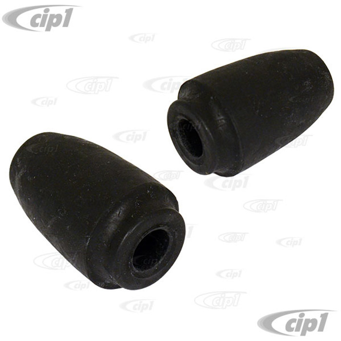 C16-311-191 - (311-501-191 311501191) - GOOD QUALITY - REAR SUSPENSION RUBBER BUMP STOPS/SNUBBERS - BEETLE 60-79/GHIA 60-74/TYPE-3 62-74 - SOLD PAIR