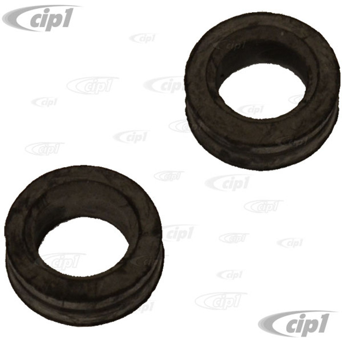 C16-311-261AW - (311-955-261A 311955261A) - EXCELLENT QUALITY REPRODUCTION - WIPER SHAFT SEALS/GROMMETS - BEETLE 70-77/SUPER BEETLE 71-72/GHIA 70-74/BUS 68-79/TYPE-3 62-74/TYPE-4 69-74 - SOLD PAIR