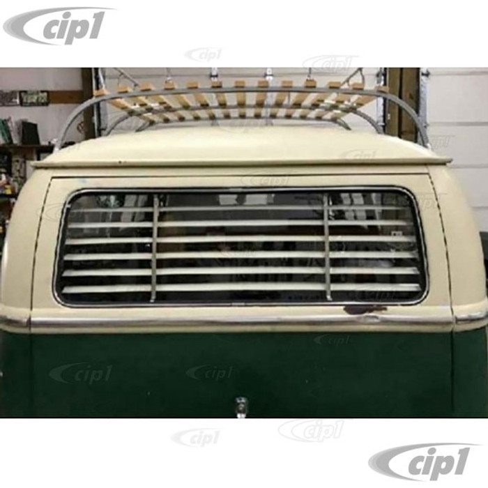 C21-0348-06 - VINTAGE STYLE ACCESSORY REAR WINDOW INTERIOR BLINDS/LOUVER SET - FITS INSIDE CAR (ASSEMBLY REQUIRED) - BUS 64-79 - SOLD EACH