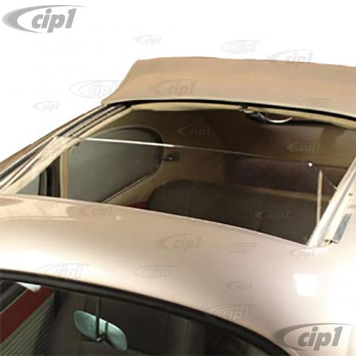 C21-0390 - PLASTIC SUNROOF WIND DEFLECTOR - SLIDING RAG CLOTH ORIGINAL SUNROOF ONLY - BEETLE 57-63