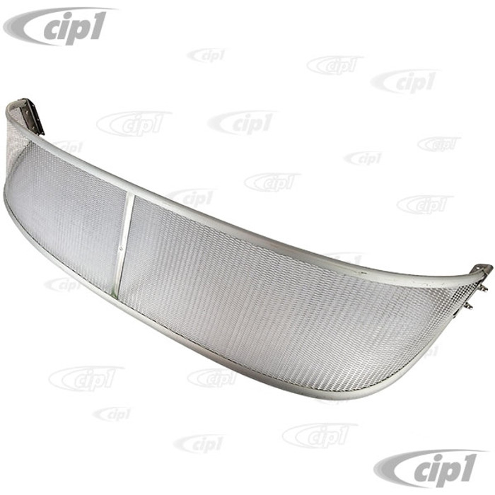 C21-0486-330 - AUSTRALIAN STYLE MESH SUNVISOR - ALL 62-73 TYPE-3 - WITH 6 MOUNTING SCREWS (NON-POLISHED EDGE/RAW FINISH) - SOLD EACH